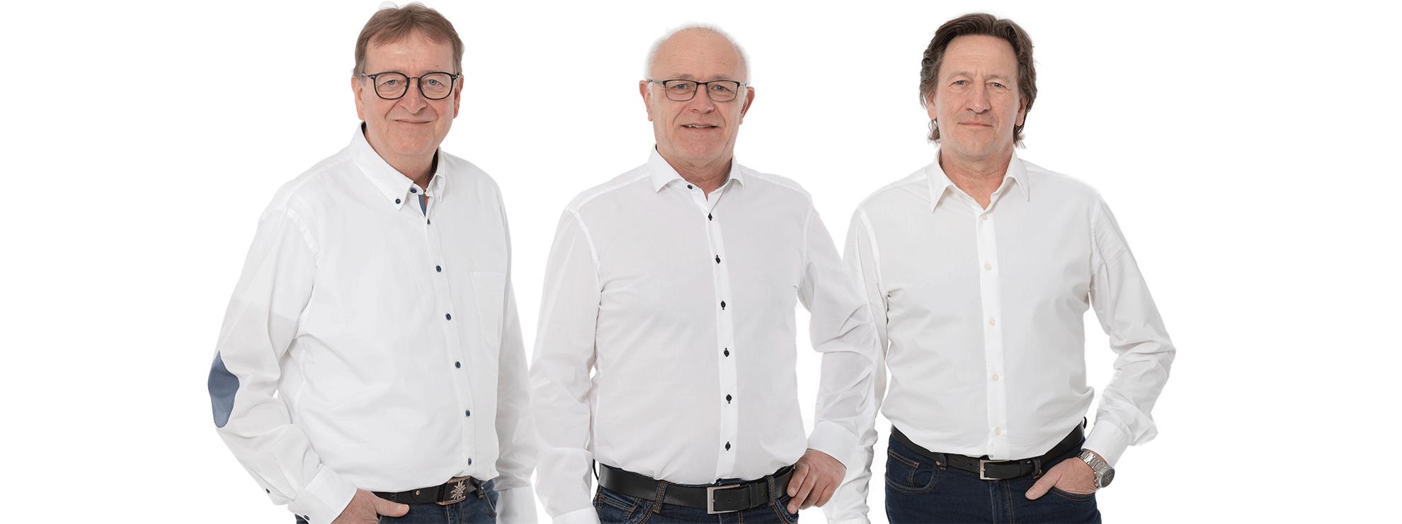 Dieter Luhmann, Thomas Gensch, Elmar Happe